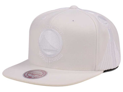 Golden State Warriors Mitchell & Ness NBA Tonal Short Hook Snapback Cap