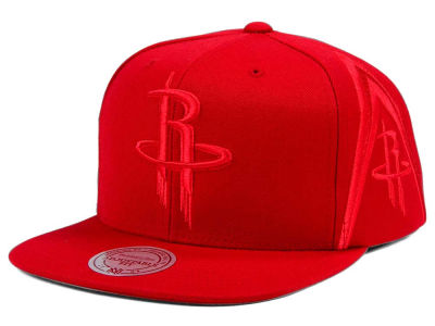 Houston Rockets Mitchell & Ness NBA Tonal Short Hook Snapback Cap