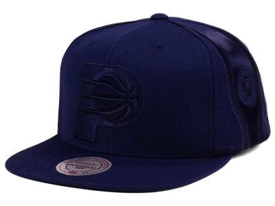 Indiana Pacers Mitchell & Ness NBA Tonal Short Hook Snapback Cap