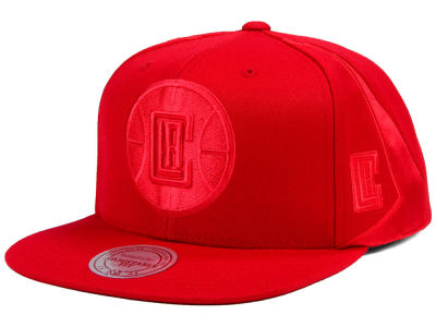 Los Angeles Clippers Mitchell & Ness NBA Tonal Short Hook Snapback Cap