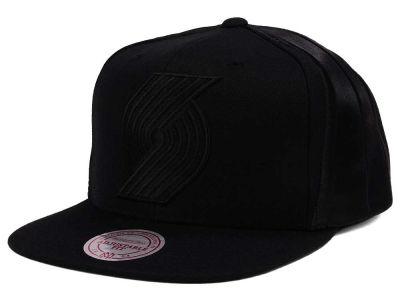new style 0ffcf 3edad Portland Trail Blazers Mitchell   Ness NBA Tonal Short Hook Snapback Cap