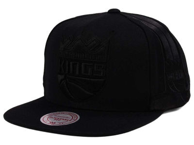 Sacramento Kings Mitchell & Ness NBA Tonal Short Hook Snapback Cap