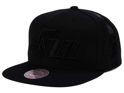 Utah Jazz Mitchell & Ness NBA Tonal Short Hook Snapback Cap