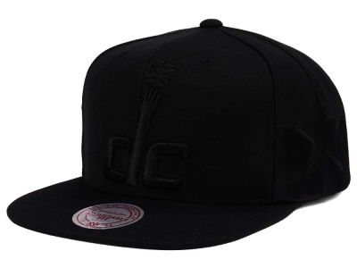 Washington Wizards Mitchell & Ness NBA Tonal Short Hook Snapback Cap