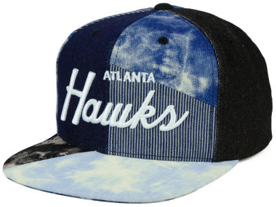 Atlanta Hawks Mitchell & Ness NBA Denim Craze Snapback Cap