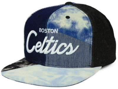 Boston Celtics Mitchell & Ness NBA Denim Craze Snapback Cap