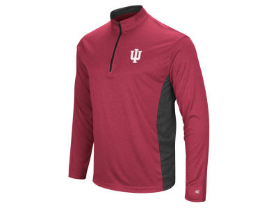 Indiana Hoosiers Colosseum NCAA Men's Audible Quarter Zip Pullover
