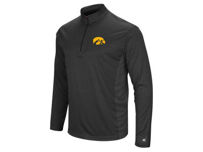 Iowa Hawkeyes Colosseum NCAA Men's Audible Quarter Zip Pullover