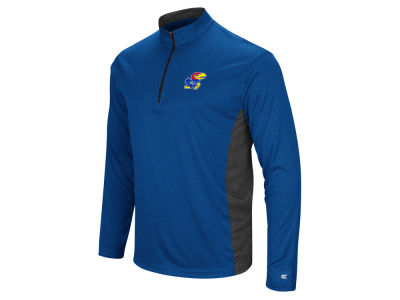 Kansas Jayhawks Colosseum NCAA Men's Audible Quarter Zip Pullover