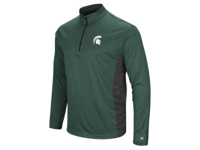 Michigan State Spartans Colosseum NCAA Men's Audible Quarter Zip Pullover