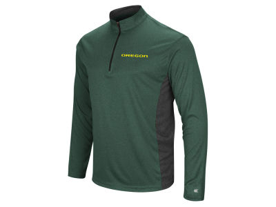 Oregon Ducks Colosseum NCAA Men's Audible Quarter Zip Pullover