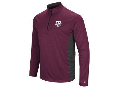 Texas A&M Aggies Colosseum NCAA Men's Audible Quarter Zip Pullover