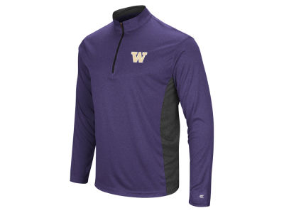 Washington Huskies Colosseum NCAA Men's Audible Quarter Zip Pullover