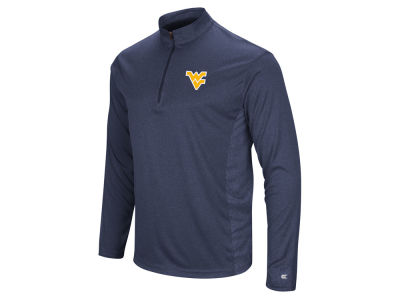 West Virginia Mountaineers Colosseum NCAA Men's Audible Quarter Zip Pullover