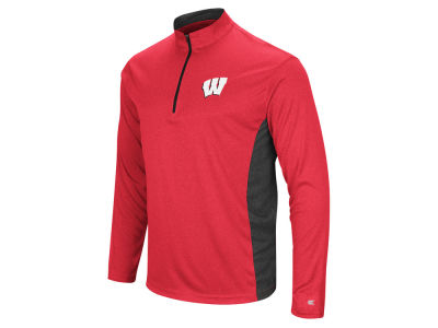 Wisconsin Badgers Colosseum NCAA Men's Audible Quarter Zip Pullover