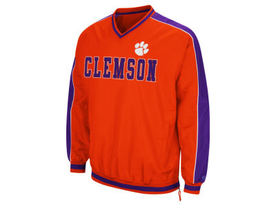 Clemson Tigers Colosseum NCAA Men's Attack Line Windbreaker Jacket