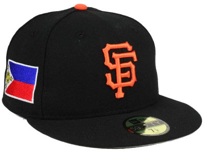 San Francisco Giants New Era MLB Country Customs 59FIFTY Cap