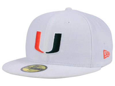 Miami Hurricanes New Era NCAA AC 59FIFTY Cap