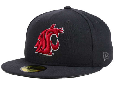 Washington State Cougars New Era NCAA AC 59FIFTY Cap