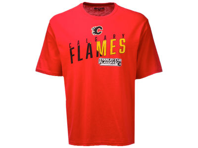 Calgary Flames NHL Men's Stanley Cup Playoffs Bender T-Shirt