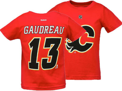 Calgary Flames Johnny Gaudreau Reebok NHL Infant Player T-Shirt