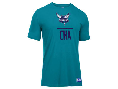Charlotte Hornets Under Armour NBA Men's Lockup T-Shirt
