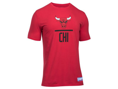 Chicago Bulls Under Armour NBA Men's Lockup T-Shirt