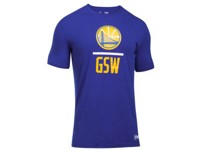 Golden State Warriors Under Armour NBA Men's Lockup T-Shirt