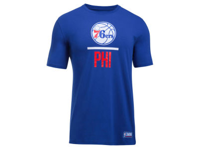 Philadelphia 76ers Under Armour NBA Men's Lockup T-Shirt
