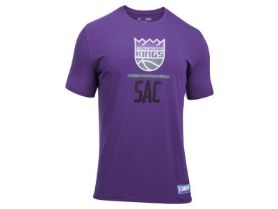 Sacramento Kings Under Armour NBA Men's Lockup T-Shirt