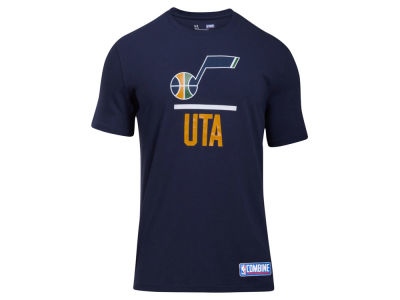 Utah Jazz Under Armour NBA Men's Lockup T-Shirt