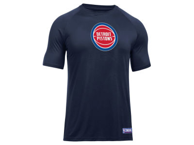Detroit Pistons Under Armour NBA Men's Primary Logo T-Shirt