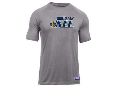 Utah Jazz Under Armour NBA Men's Primary Logo T-Shirt