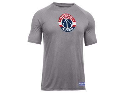 Washington Wizards Under Armour NBA Men's Primary Logo T-Shirt