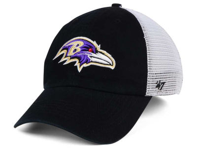 Baltimore Ravens '47 NFL '47 Deep Ball Mesh CLOSER Cap