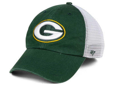 Green Bay Packers '47 NFL '47 Deep Ball Mesh CLOSER Cap