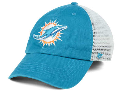 Miami Dolphins '47 NFL '47 Deep Ball Mesh CLOSER Cap