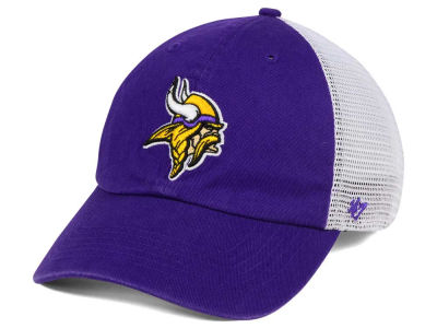 Minnesota Vikings '47 NFL '47 Deep Ball Mesh CLOSER Cap