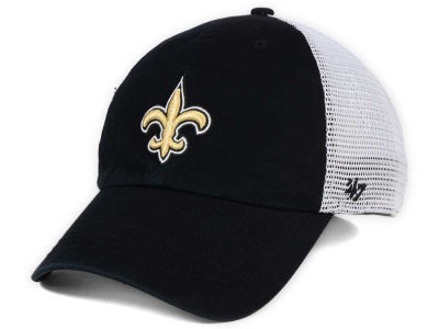 New Orleans Saints '47 NFL '47 Deep Ball Mesh CLOSER Cap
