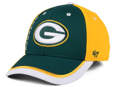 Green Bay Packers '47 NFL '47 Crash Line Contender Flex Cap