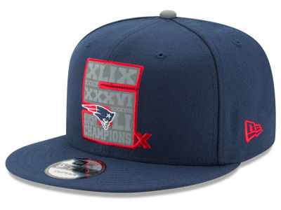 New England Patriots New Era NFL 5X Super Bowl Champ 9FIFTY Cap