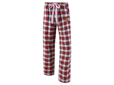 Chicago Blackhawks Concept Sports NHL Women's Forge Flannel Pant