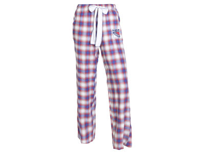 New York Rangers Concept Sports NHL Women's Forge Flannel Pant