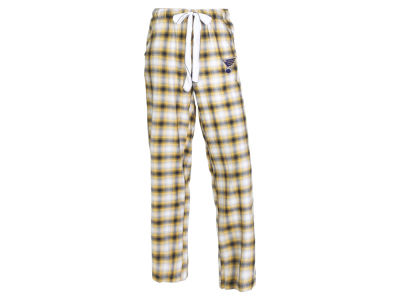 St. Louis Blues Concept Sports NHL Women's Forge Flannel Pant