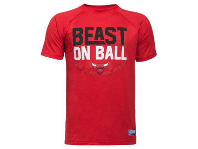 Chicago Bulls Under Armour NBA Youth Combine Beast on Ball T-Shirt