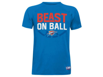 Oklahoma City Thunder Under Armour NBA Youth Combine Beast on Ball T-Shirt