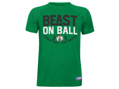 Boston Celtics Under Armour NBA Youth Combine Beast on Ball T-Shirt