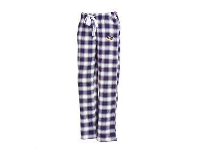 Baltimore Ravens Concept Sports NFL Women's Forge Flannel Pant