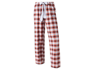 Denver Broncos Concept Sports NFL Women's Forge Flannel Pant