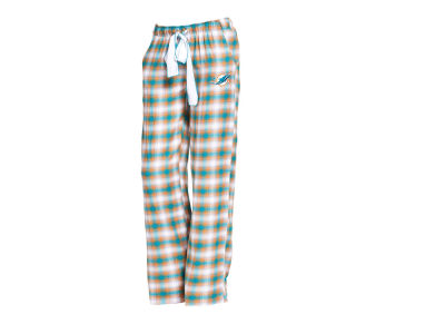 Miami Dolphins Concept Sports NFL Women's Forge Flannel Pant